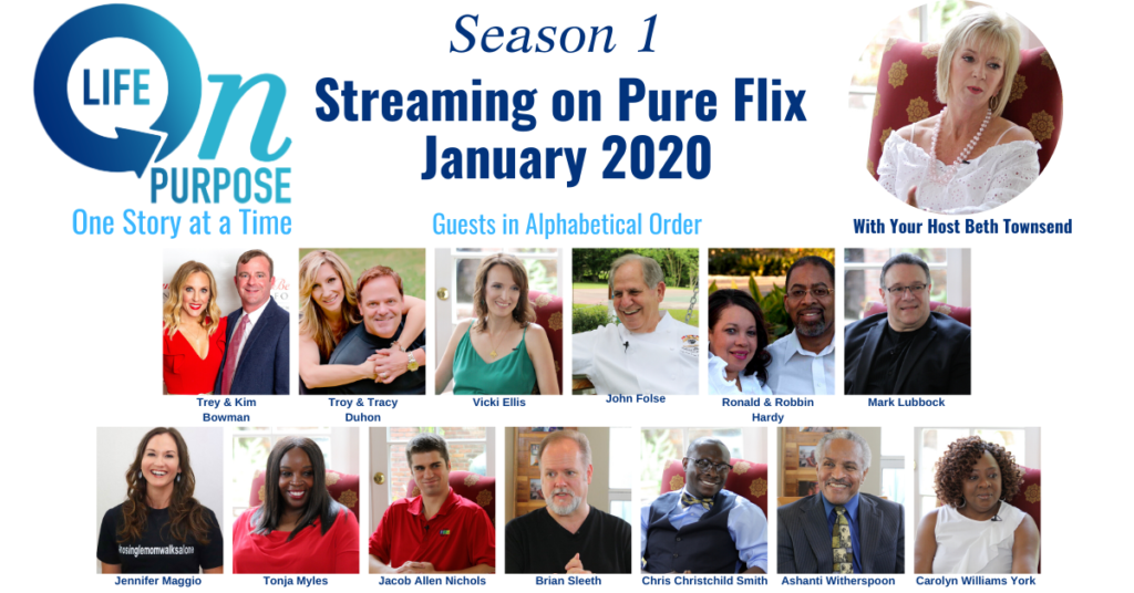 Life On Purpose TV Season 1 Guests